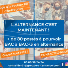 Groupe Alternance Dijon nos formations alternance à distance étudiants